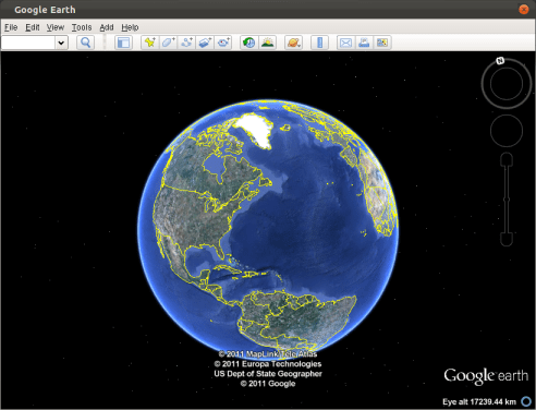 Google Earth on Ubuntu 11.10