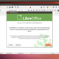 Ubuntu 13.04 include Libreoffice  4.0