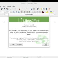 Ubuntu Gnome 14-04 Libre office