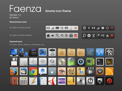 Download Faenza icon Package
