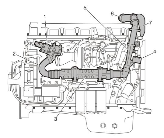 volvo d16 engine diagram