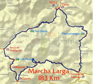 Marcha 'Lebaniega Jubilar Bike' @ Potes | Cantabria | España