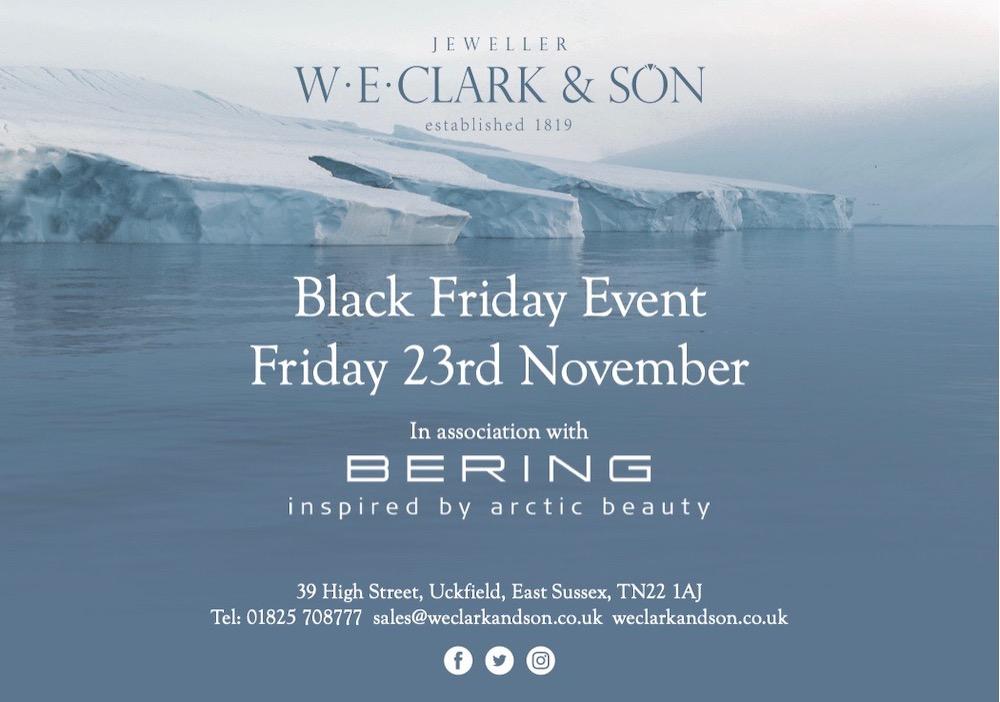 W E Clark And Son Black Friday
