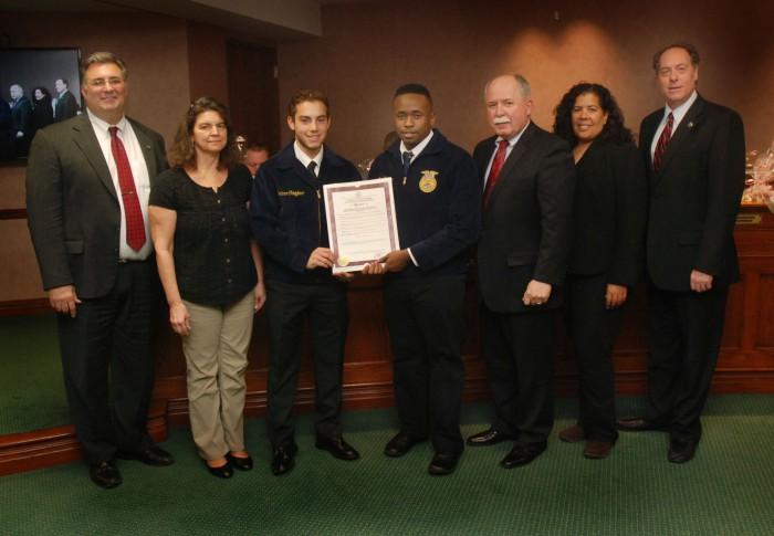 Future Farmers of America Week in Union County - County of Union - new farmers of america