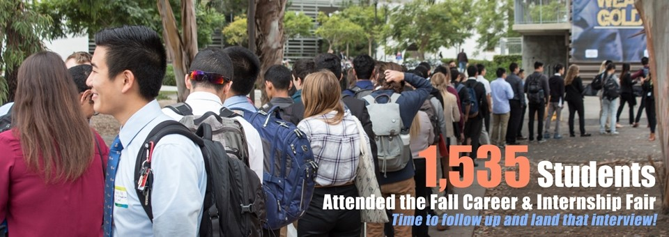 Wondering what to do now that you\u0027ve attended the fall career fair