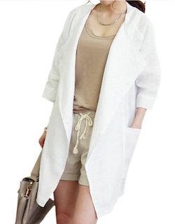 オーバーサイズのサマージャケット