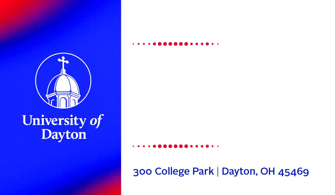 Business Cards  University of Dayton, Ohio