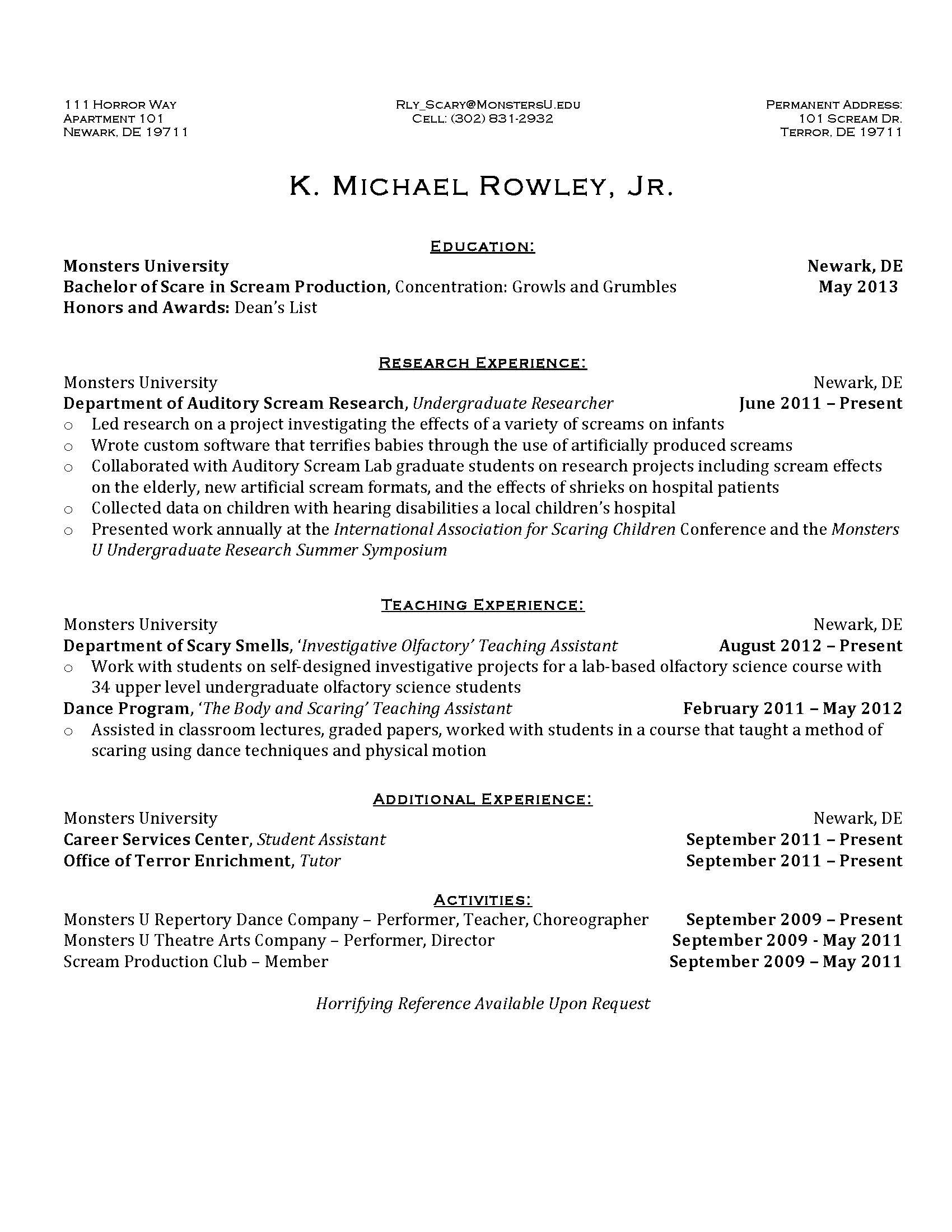 Resume Formats Monster Resume Examples And Writing Tips The Balance Wow Employers With Your Monster Resume The Ud Blog Squad