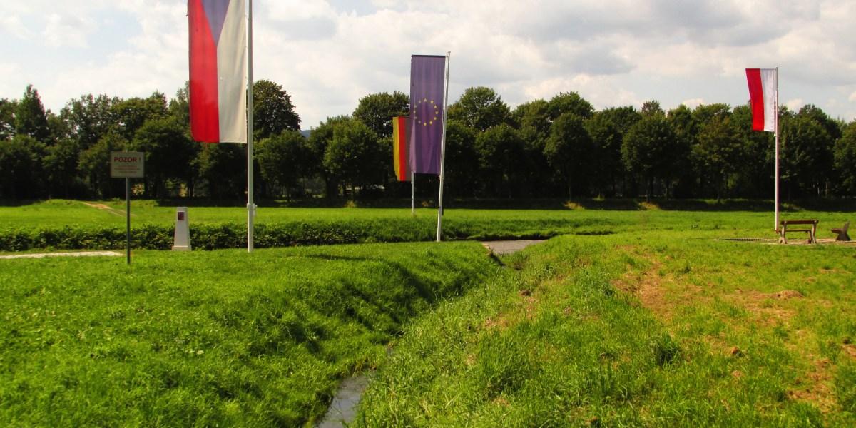 Intersecció de les tres fronteres a Polònia
