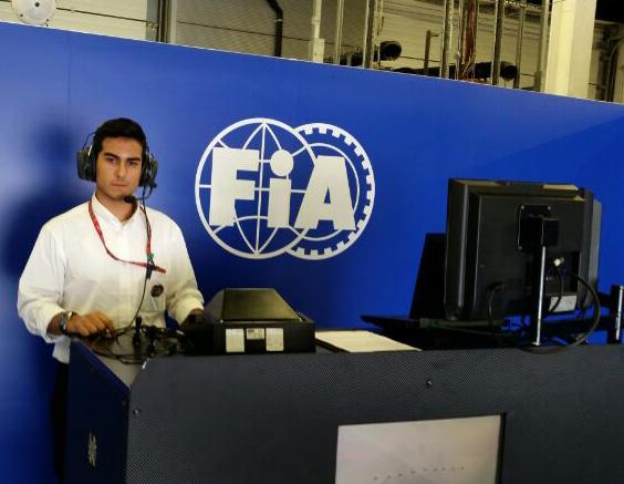 Manel Alcalà, estudiant d'Enginyeria Mecànica a Comissari Tècnic de la FIA