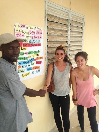 Marta Bordas i Georgina Aguilar al Senegal
