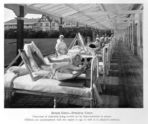 Tractament de la tuberculosi al Stannington Sanatorium (Wellcome Images)