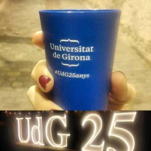 Got commemoratiu del 25è aniversari de la UdG