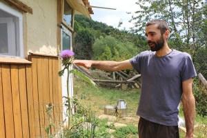 Marc Muntanya, amb el quall Herbacol