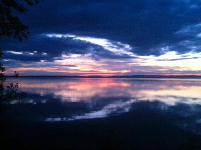Sonnenaufgang-Schweden