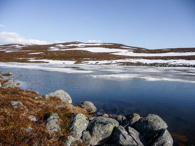 Kilpisjärvi, Mitte Juni 2015, auf dem Weg zum Dreiländerweg. Ein Ort an dem ich auch ein Jahr hoffentlich stehen werde.
