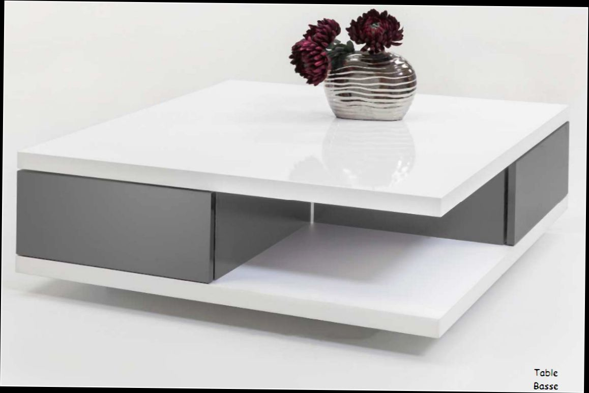 Table basse grise conforama table basse grise design pas cher choix d 39 lectrom nager - Table grise conforama ...