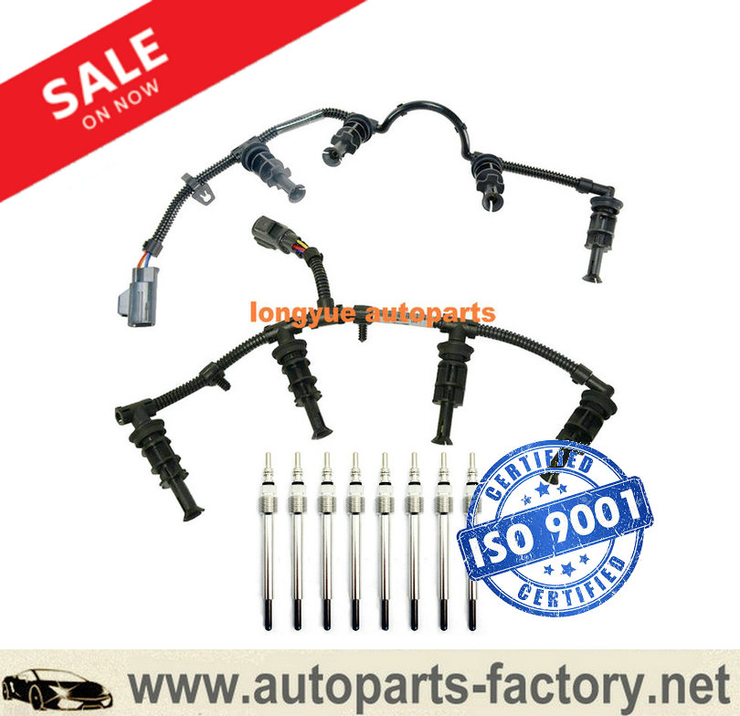 long yue 08-10 Ford F350 64L Powerstroke Glow Plug Wiring Harnesses