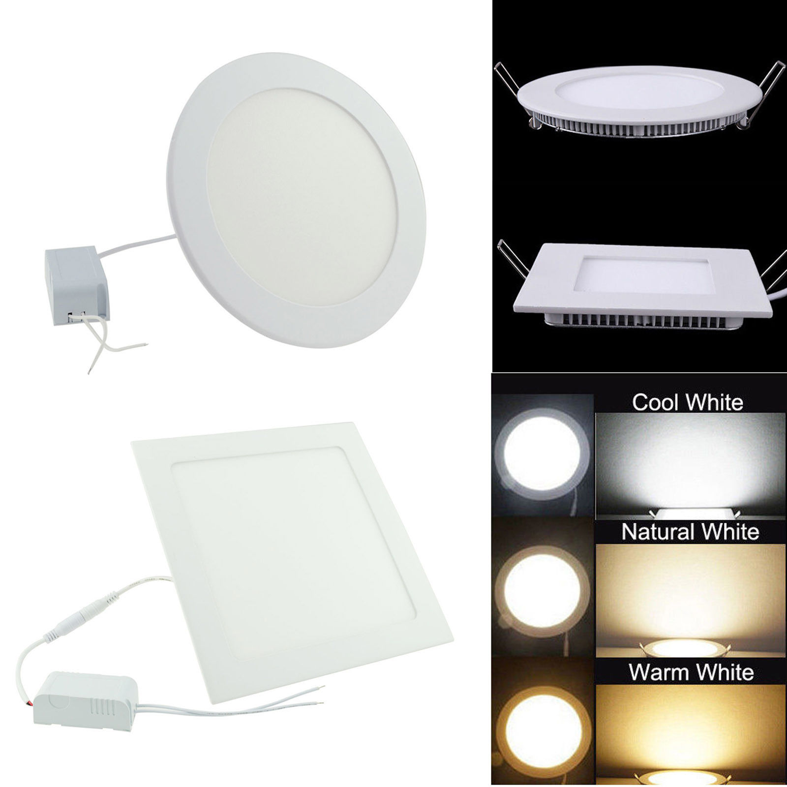 Led Panel Light Square And Round Square Round Led Panel Light Led Panel Light