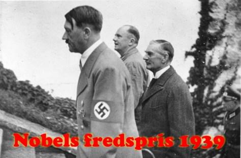 Nobels fredspris 1939