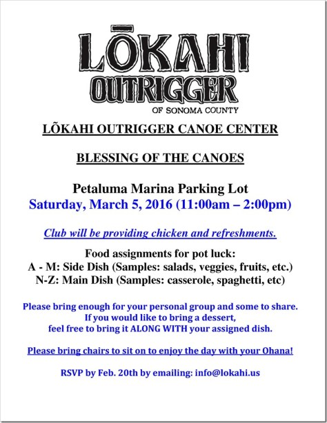 Lokahi Blessing of the Canoes 2016