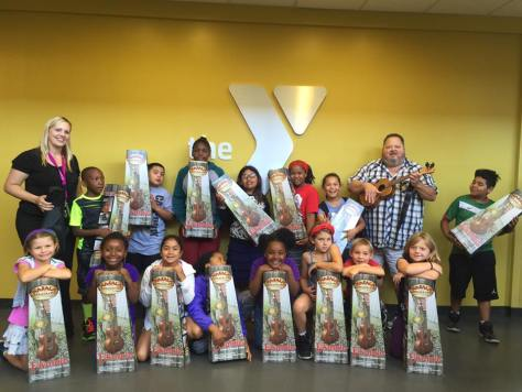 YMCA Ukes Donated By PIKOhana