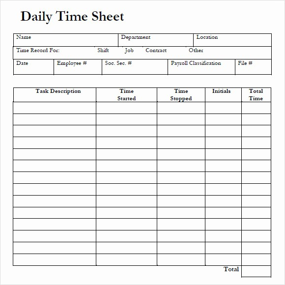 Bi Weekly Timesheet Template Free Lovely 10 Weekly Timesheet