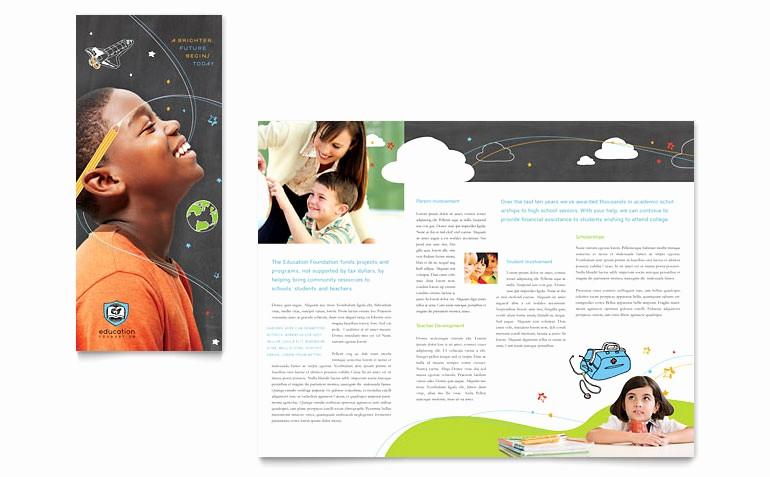 Microsoft Tri Fold Brochure Templates Best Of Free Three Fold Flyer