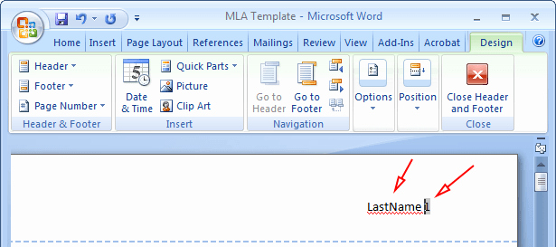 Mla format Word 2013 Template Elegant How to Do Mla format In Word