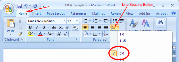 Mla formatting In Word 2010 Beautiful where is the Clear formatting