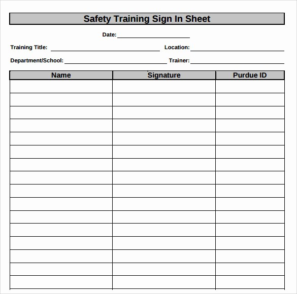 Osha Training Sign In Sheet Awesome Search Results for \u201csafety