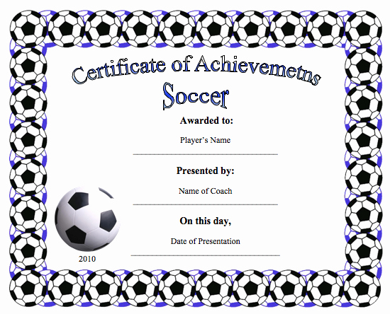 Player Of the Game Certificates New Certificate Templates Archives