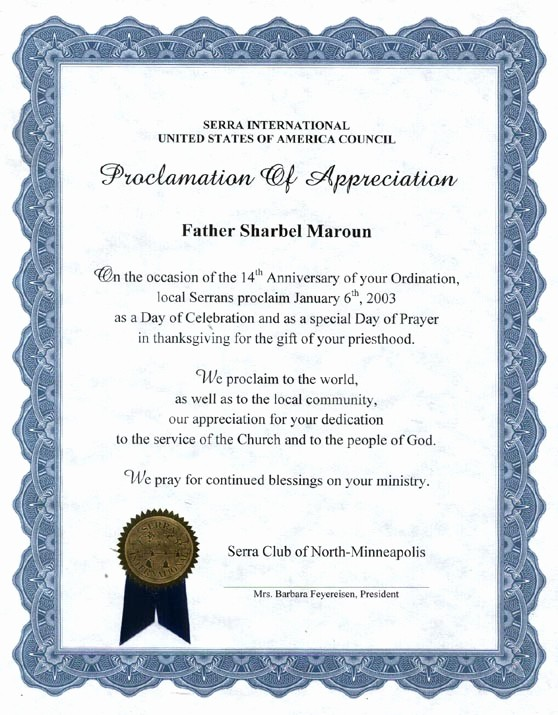 Sample Of Certification Of Appreciation Inspirational 10 Best Of