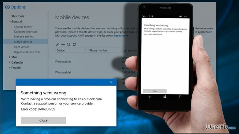 How to Fix Windows 10 Mail App Sync Error 0x86000c09?