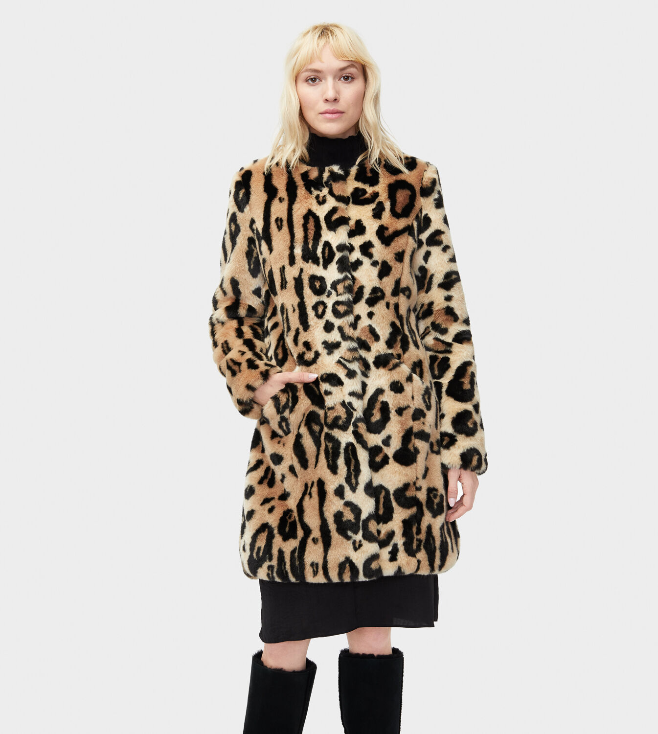 Fur Womens Women S Share This Product Lisabeth Faux Fur Coat