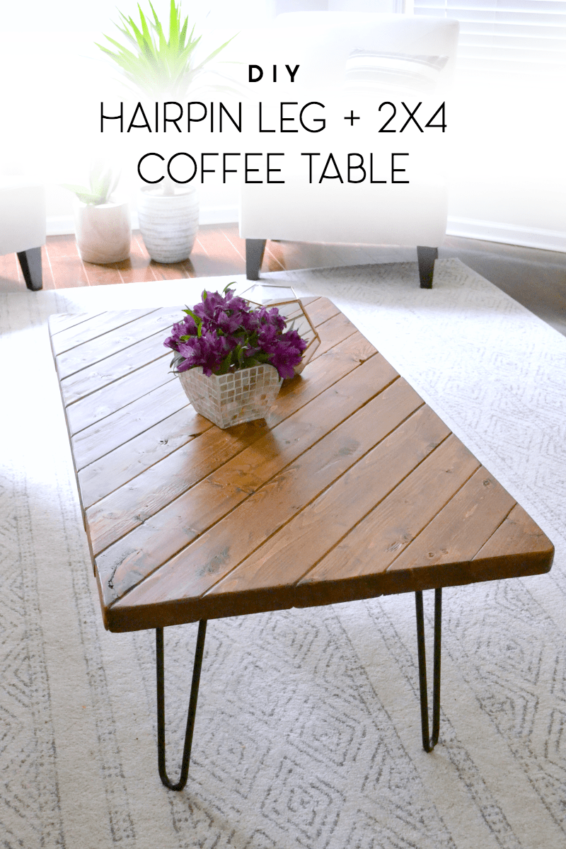 Diy Desk With Hairpin Legs My 15 Minute Diy Hairpin Leg Coffee Table Ugly Duckling House