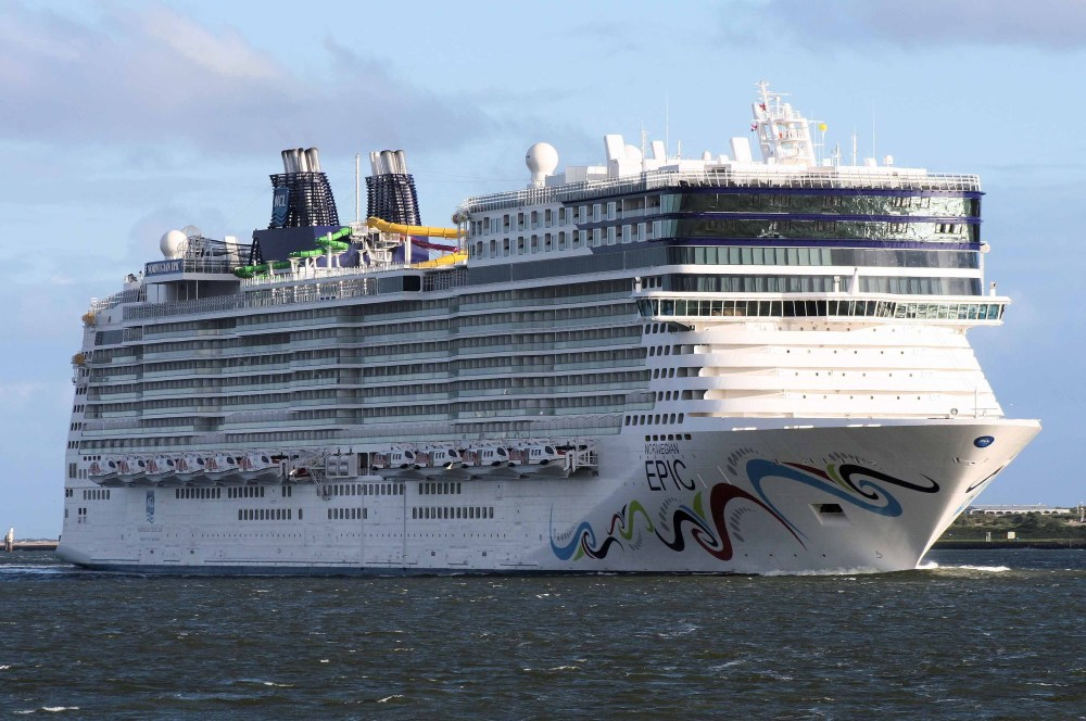 Norwegian Epic : NEWSFLASH!! (2/4)