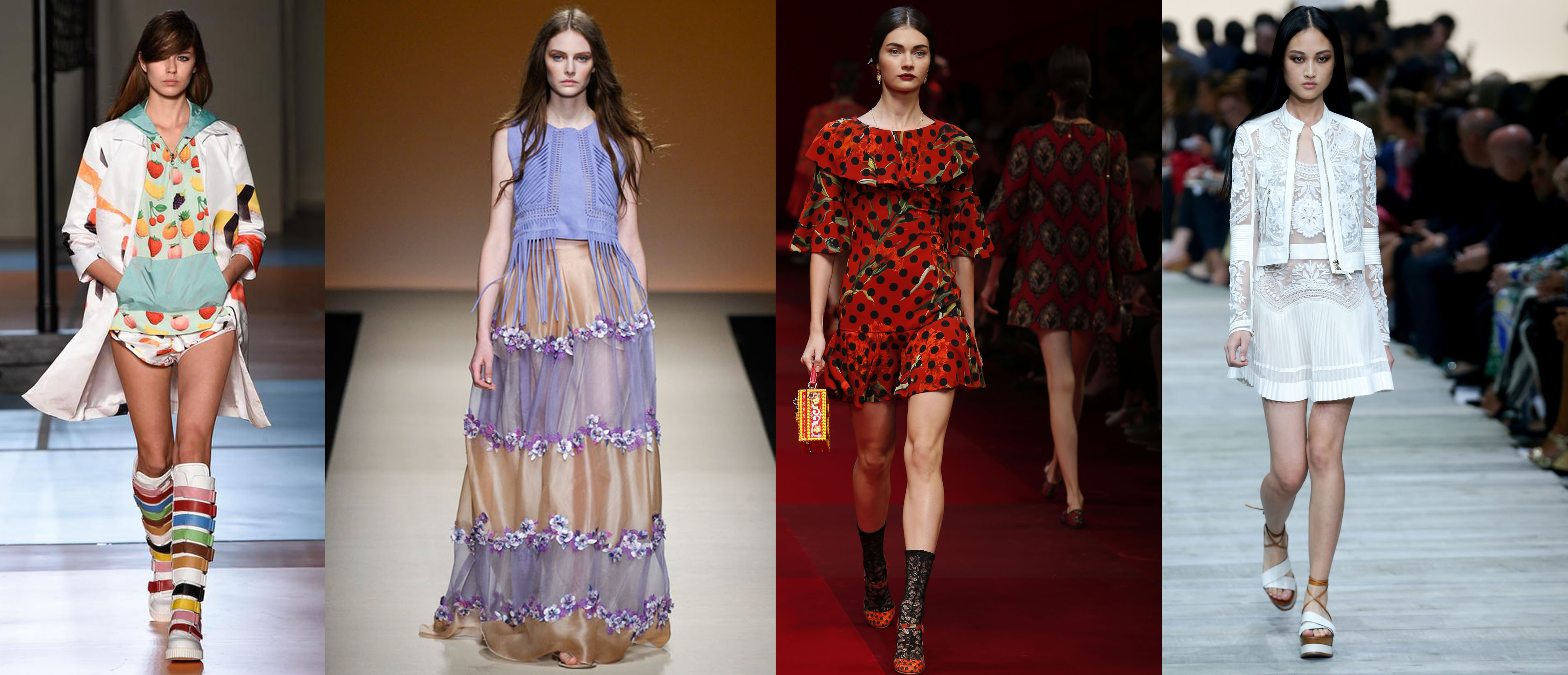 Trend Wandfarben 2015 Trends For Spring Summer 2015: Milan Fashion Week | The