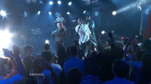Young Fathers on Jimmy #Kimmel Live