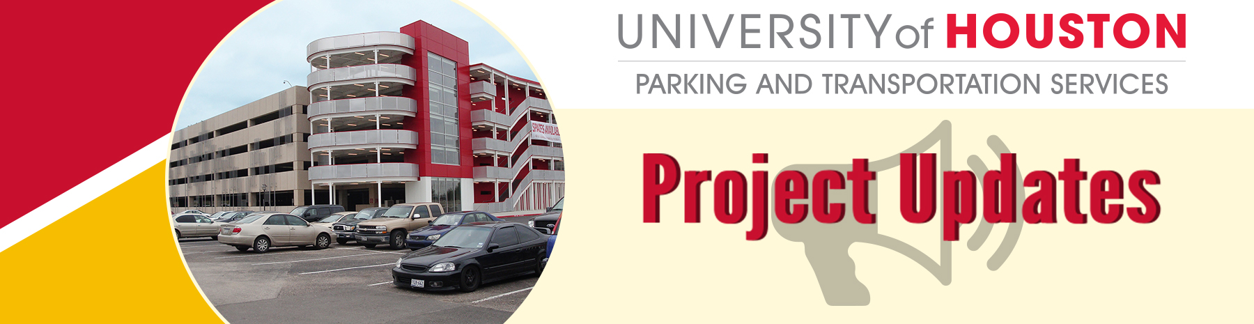 Carte W Garage Parking Transportation Project Updates University Of Houston