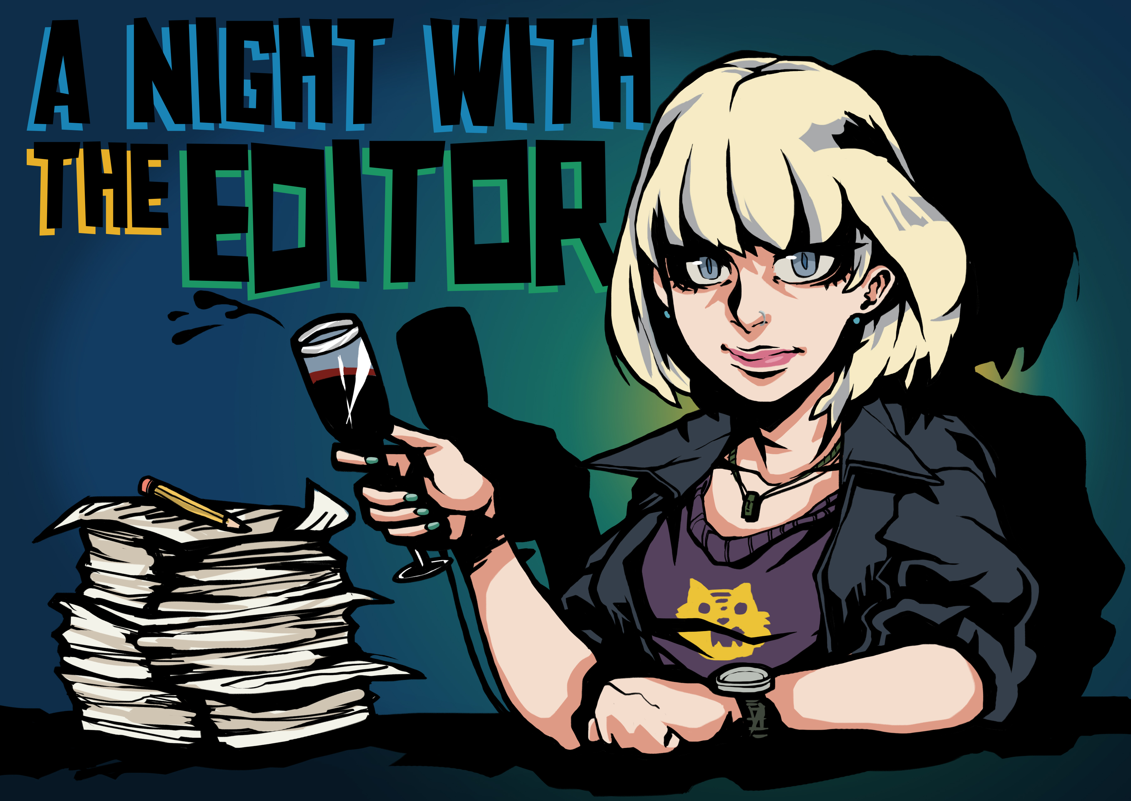 A Night Out with the Editor blog category