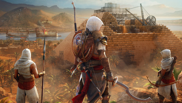 Mass Effect 3 Iphone Wallpaper Assassin S Creed Origins The Hidden Ones Hd Wallpaper