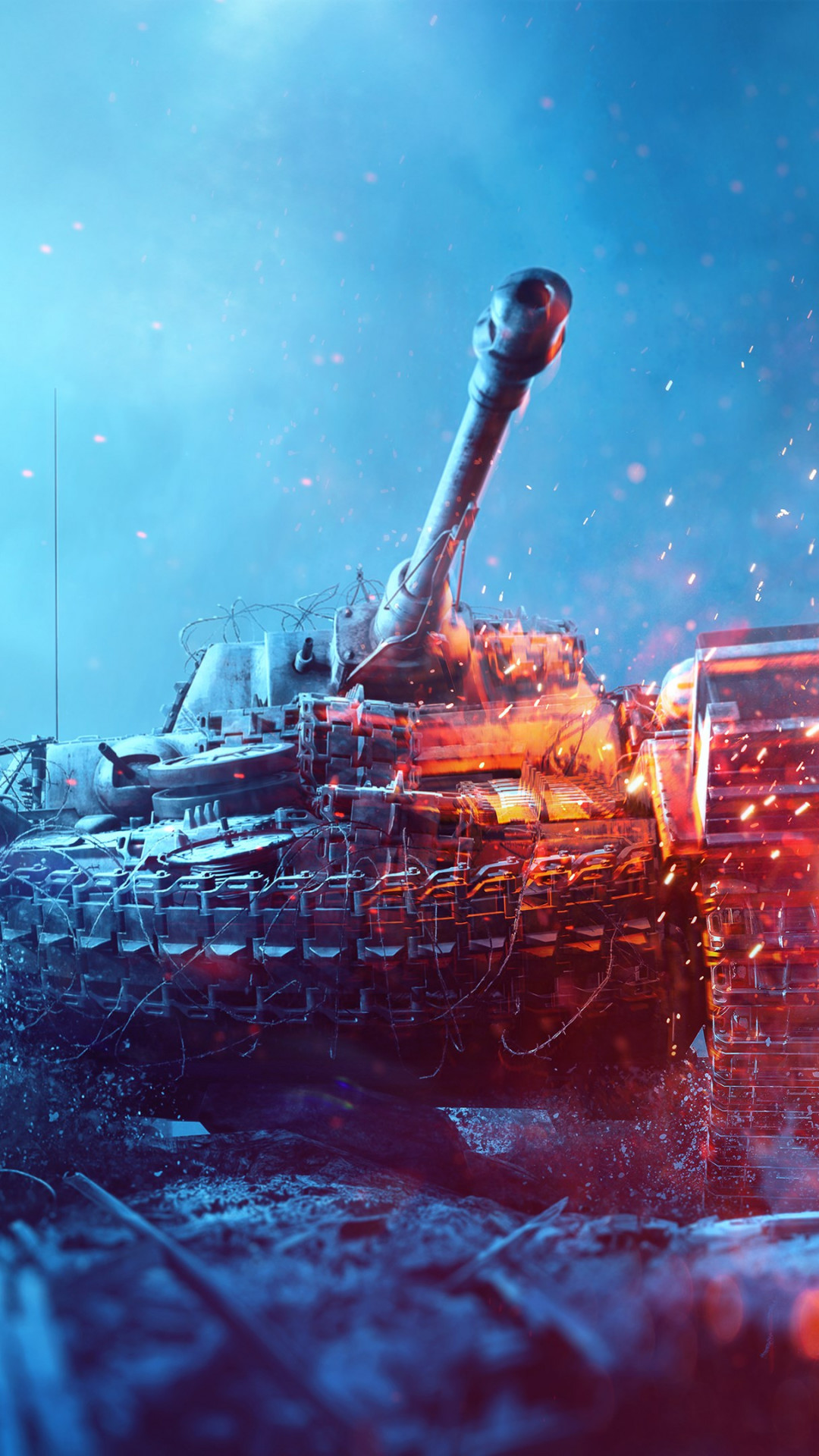Home Wallpaper Hd Download Wallpaper Battlefield 5 Poster With Tanks 1080x1920