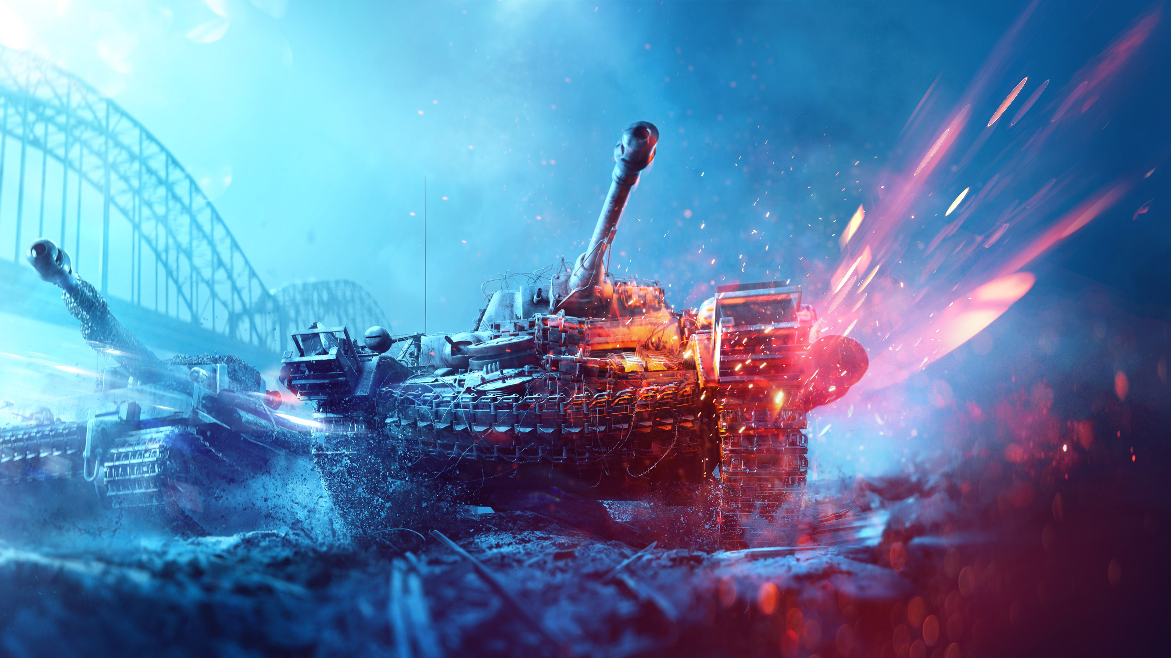 Ultra Hd Desktop Wallpapers Download Wallpaper Battlefield 5 Poster With Tanks 3840x2160