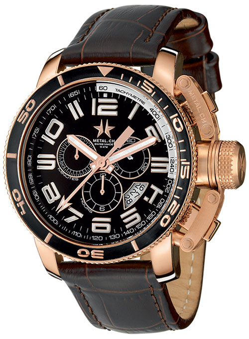 Radio Controlled Uhr Metal.ch 3340.47 Men's Watch On Timeshop4you.co.uk