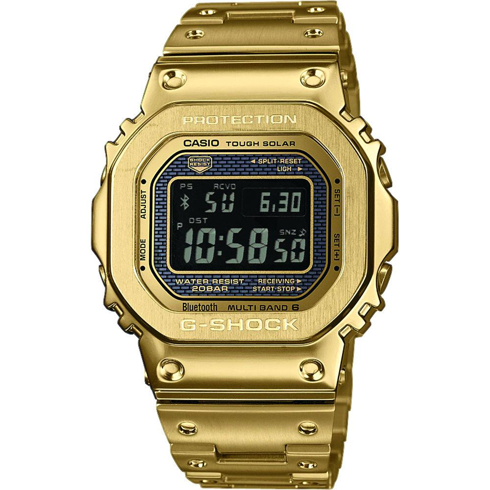 G-shock Uhren Günstig Kaufen Casio G Shock Funksolaruhr Bluetooth Gold Ip Gmw B5000gd 9er