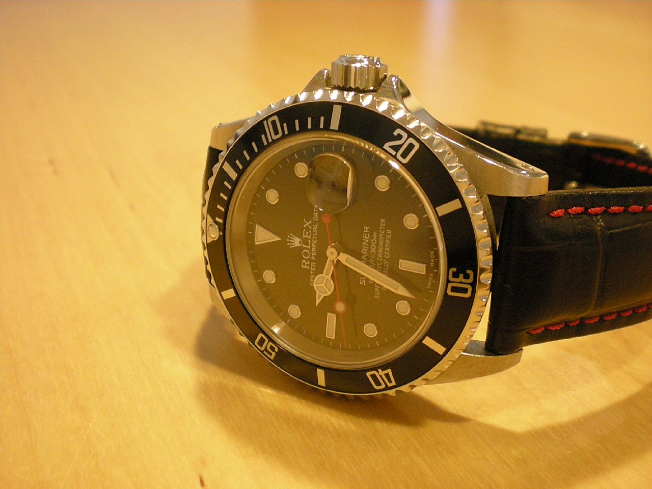 Rolex Nachbau Rolex Submariner Date 16610 Mini Mod Uhrforum