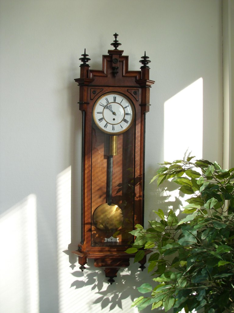 Wand Uhr Gustav Becker Jugendstil Regulator - Uhrforum - Seite 3