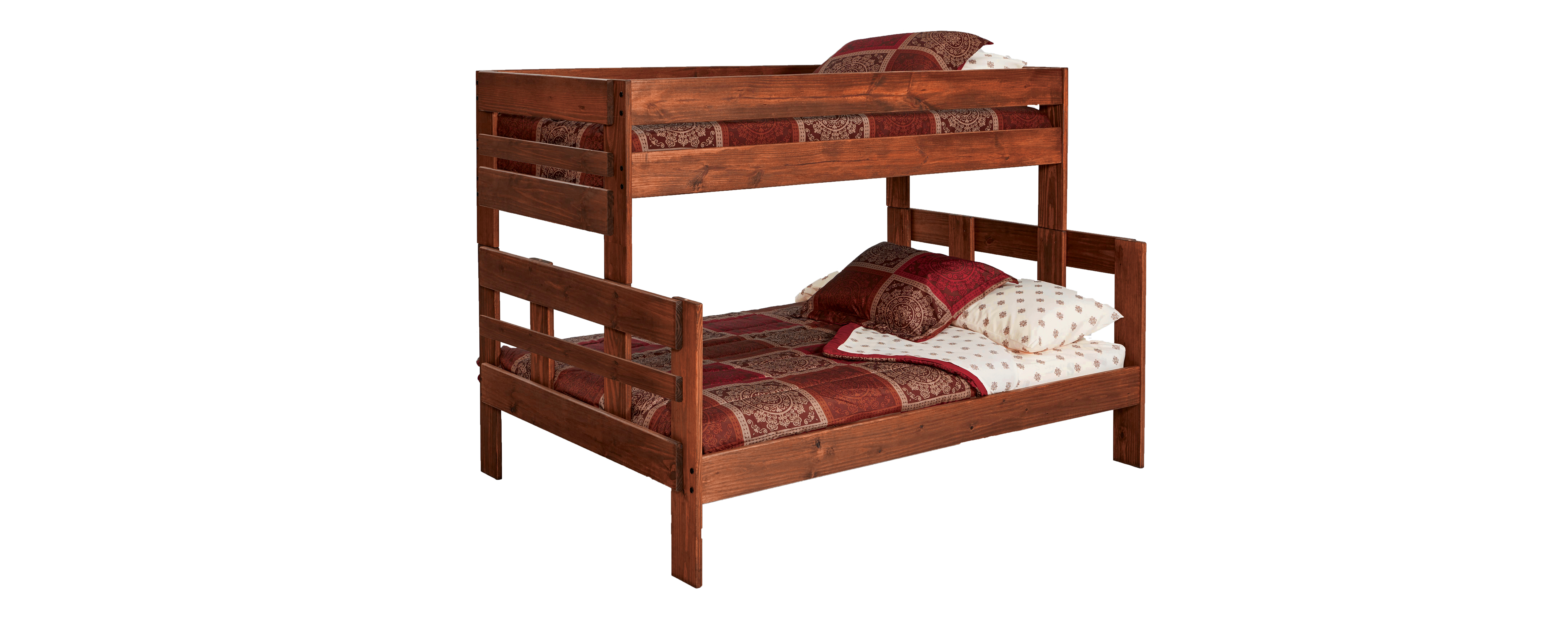 Stackable Twin Beds Simply Bunk Beds 206 2pc 2000tu Twin Full Stackable W Trundle Bunkbed