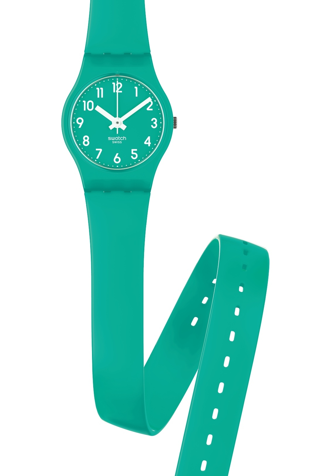 Damenuhr Wasserdicht Swatch Damenuhr Mint Leave Ll115 Nur 35,00